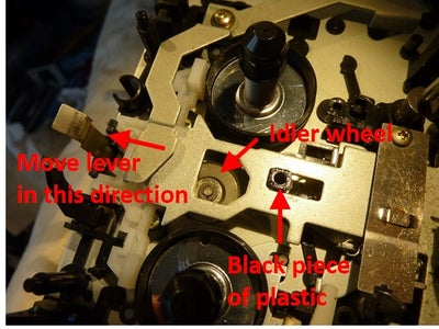 Removing the Idler Wheel
