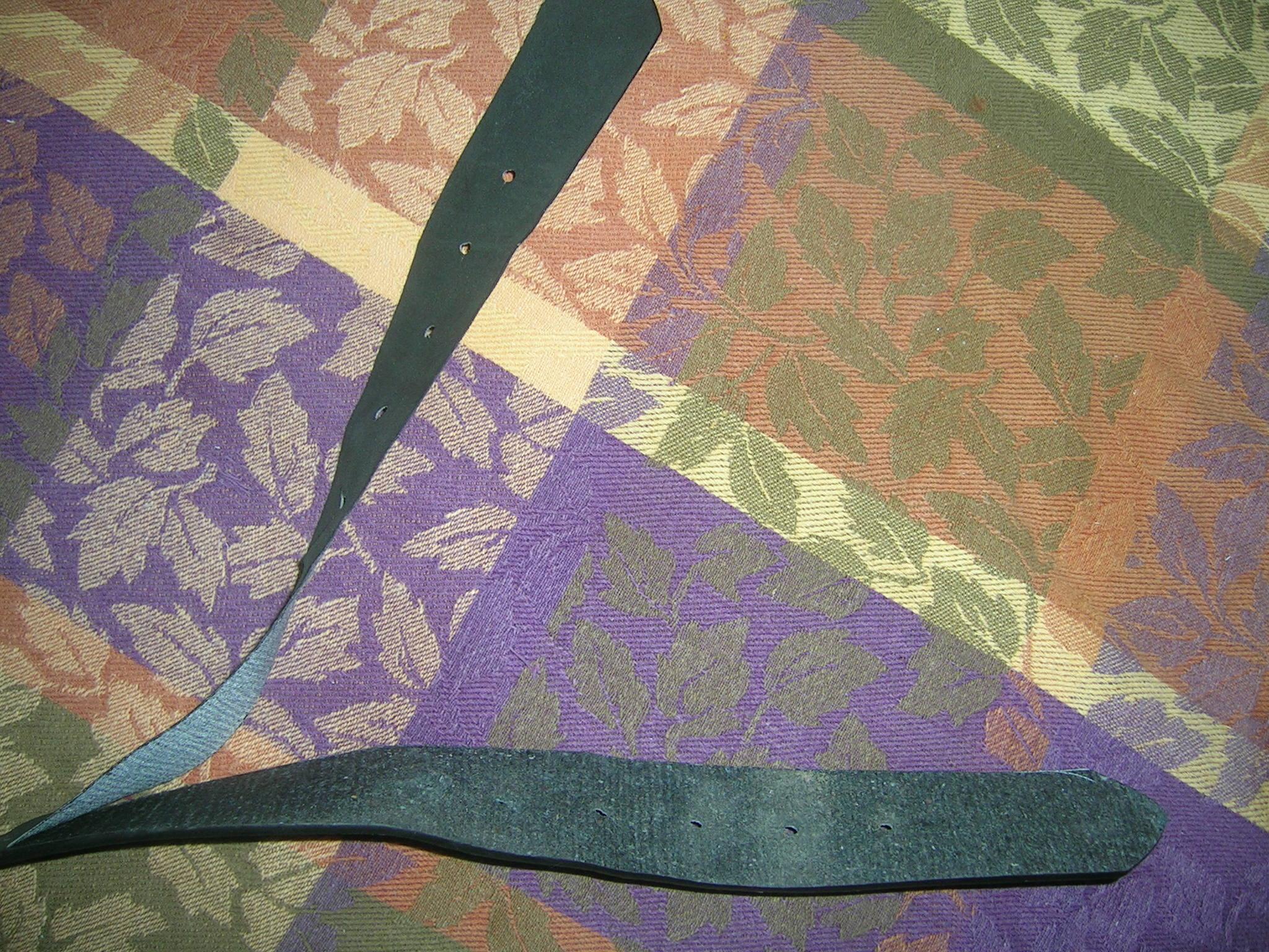 how to fix a splitting belt
