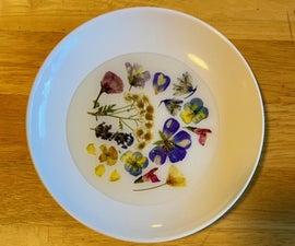 Pressed Flower Plates