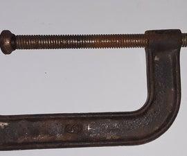 秘密c-clamp