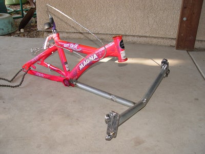 Mounting the Front Cross Member