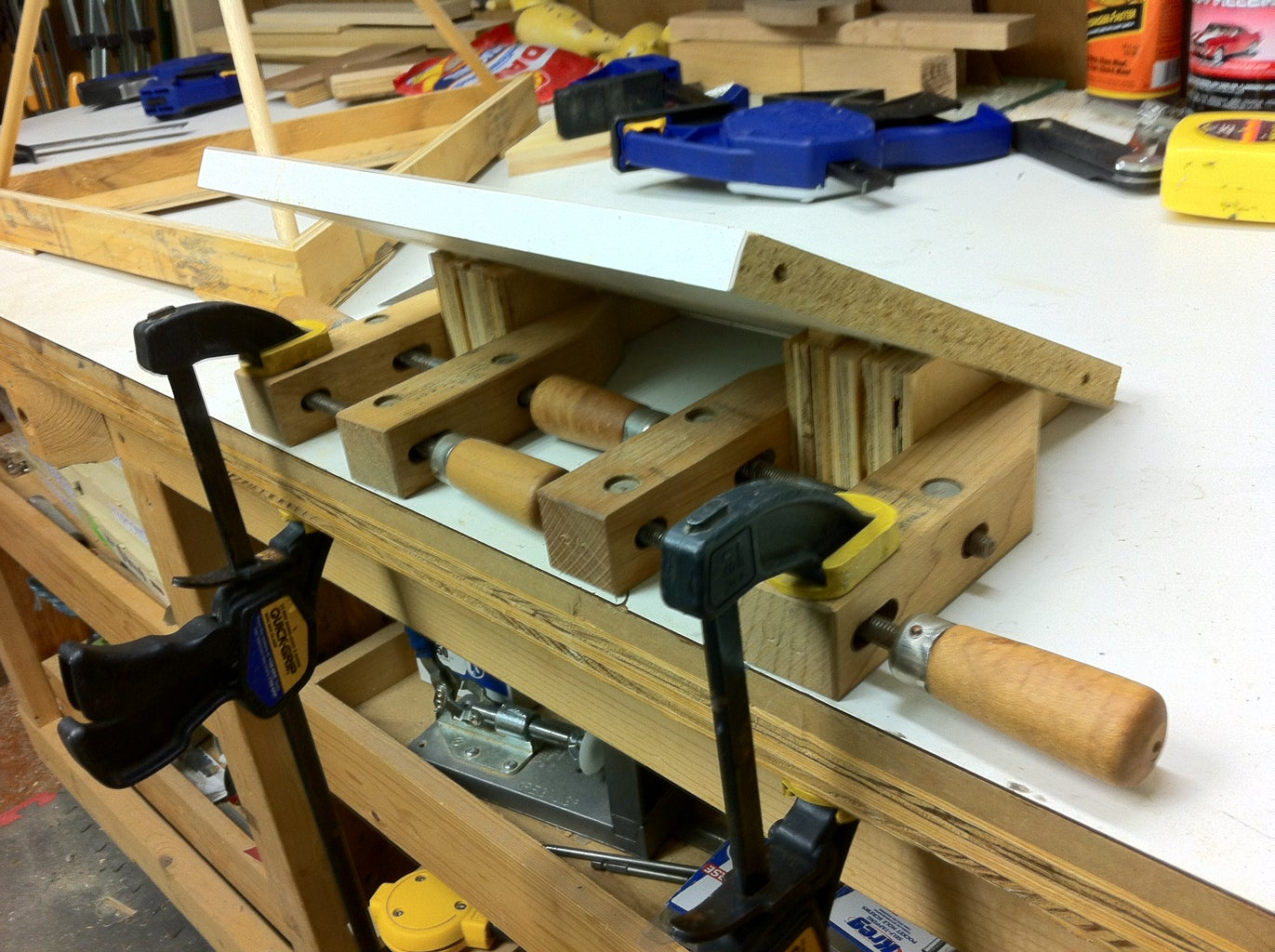 Cut and Drill the Table Tops