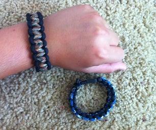 How To- Paracord Bracelet- Multi Color