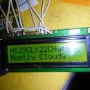 Weather Display Using Arduino and Raspberry Pi