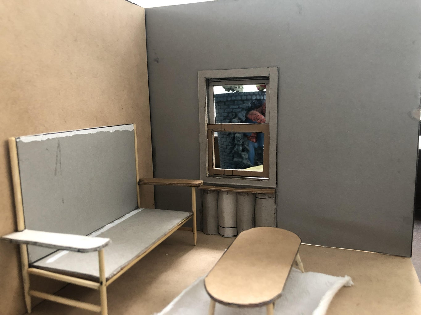 The Room (Walls and Floor)