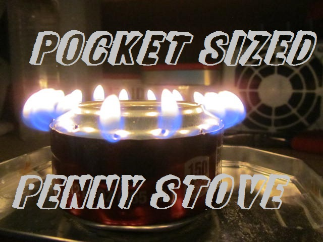 Pocket Sized Penny Stove