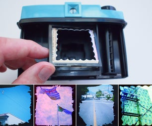 Custom Film Photography Borders