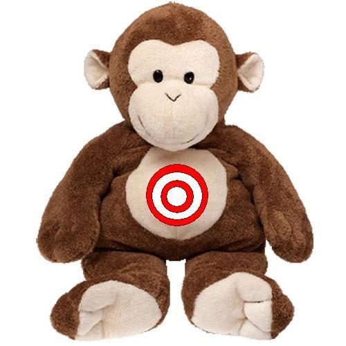 Magic Monkey Shooter (2D Trajectory Problem Solving)