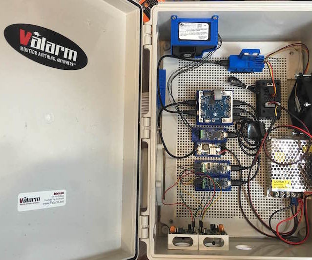 Air Quality Monitoring with Industrial IoT Sensors
