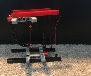 LEGO Levitating Mini Table With String