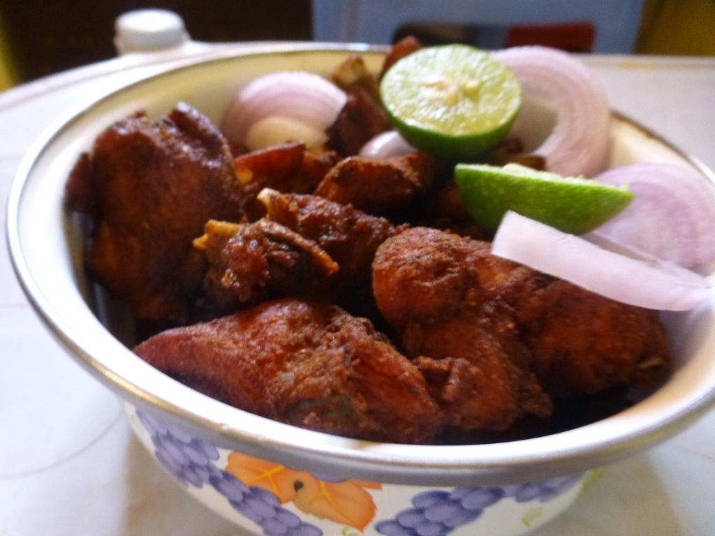 Deep Fried Spicy Chicken