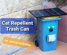 Cat Repellent Trash Can
