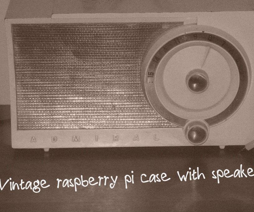 Raspberry pi gone vintage