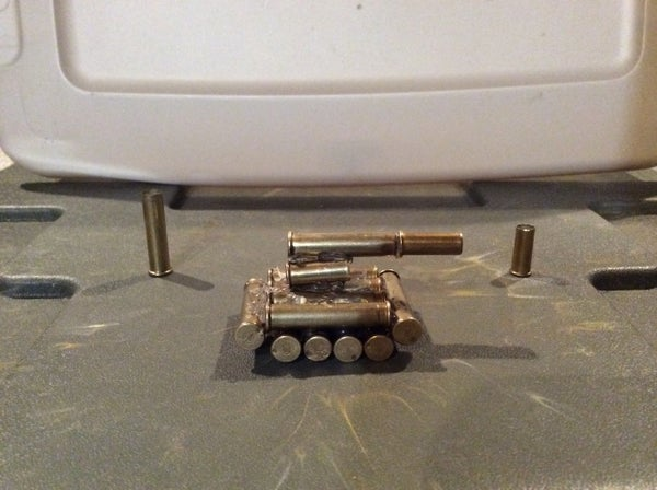 Bullet Casing Mini Tank