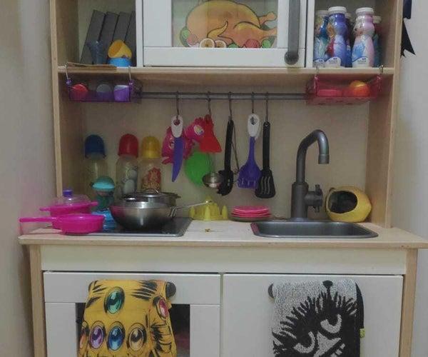 宜家Duktig儿童厨房烤箱升级