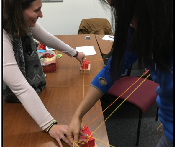Let's Make a Collaborative, Hands-On Geometry Game!
