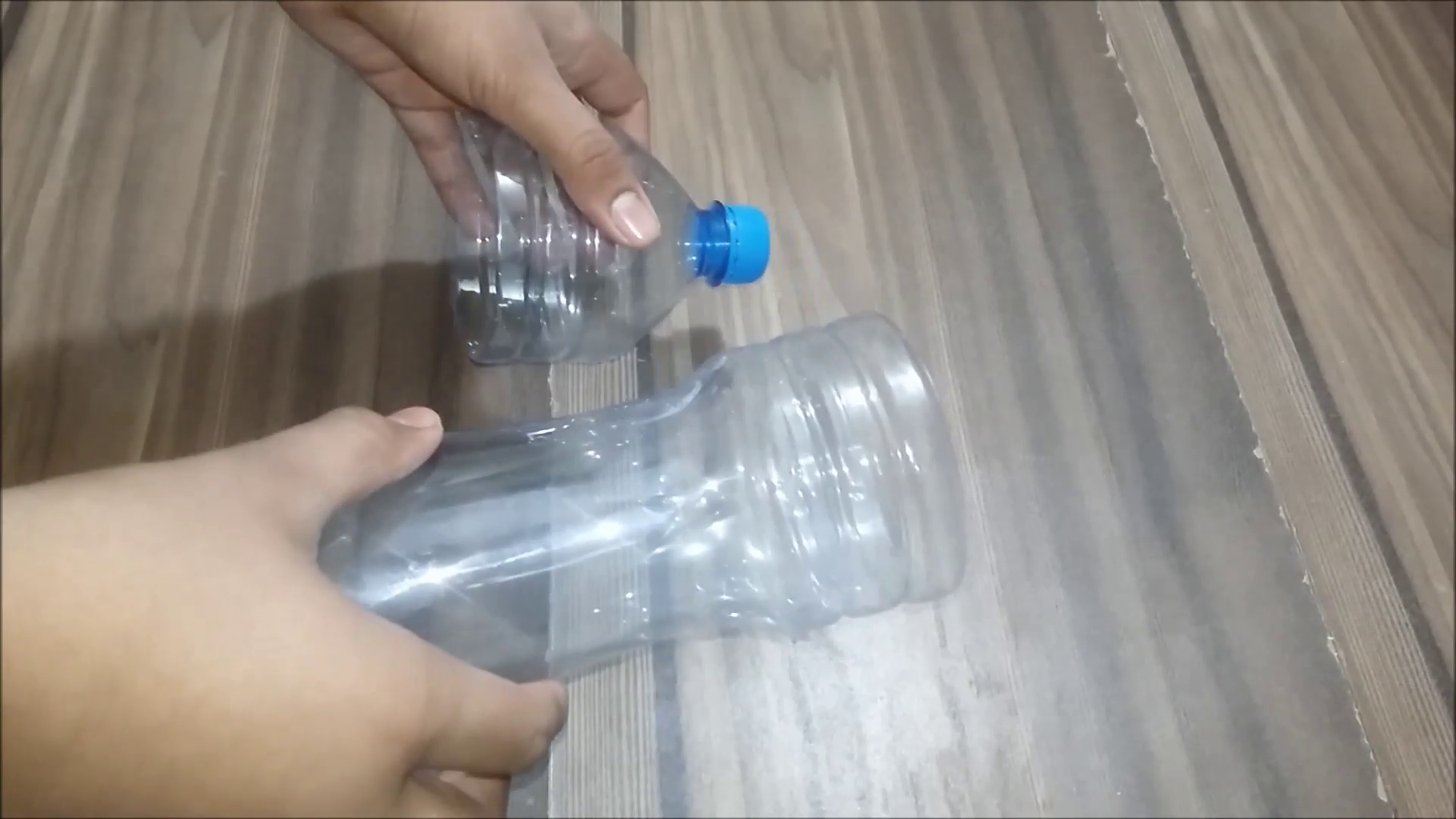 Cutting of Bottle