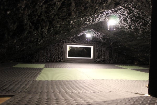 Hidden Cave / Play Room Fort