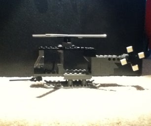Lego Attack Helicopter Showcase