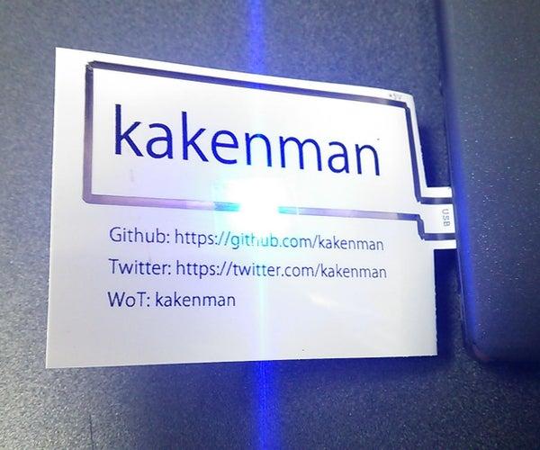 Illuminating Namecard