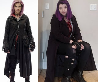 Nymphadora Tonks From Harry Potter Cosplay