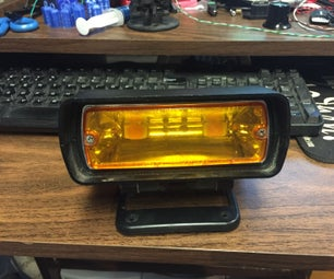 Plow Strobe Upgrade Using LED's and Arduino