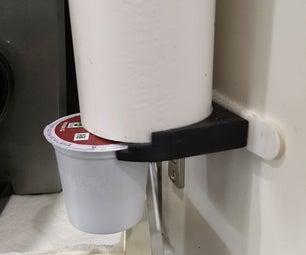 3D Printed PVC Pipe K-Cup Dispenser
