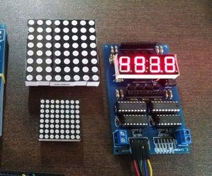 Multiple LED Display Module