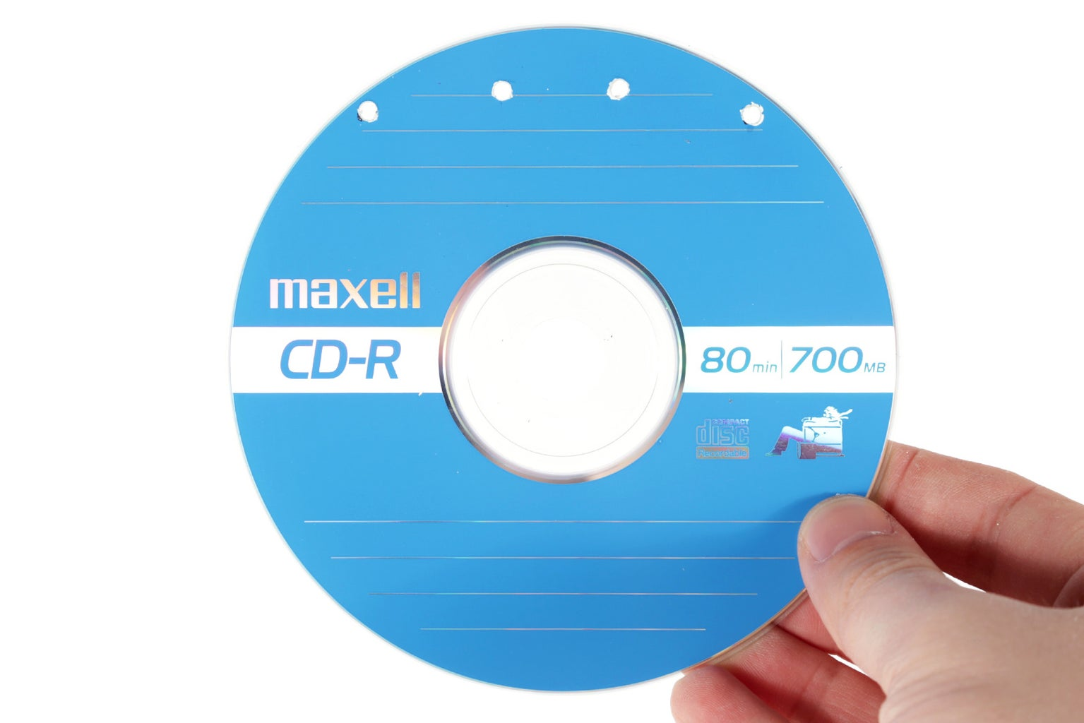 Mark and Drill the CD