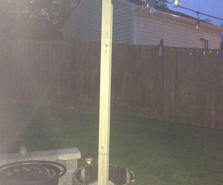 DIY Landscaping-Outdoor Barrel Posts