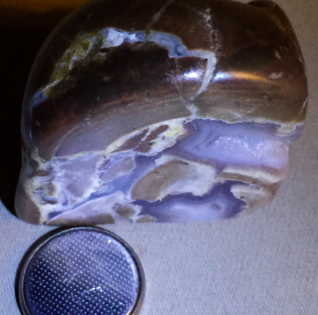 Active Grinding Plain Rock  Hard Agate