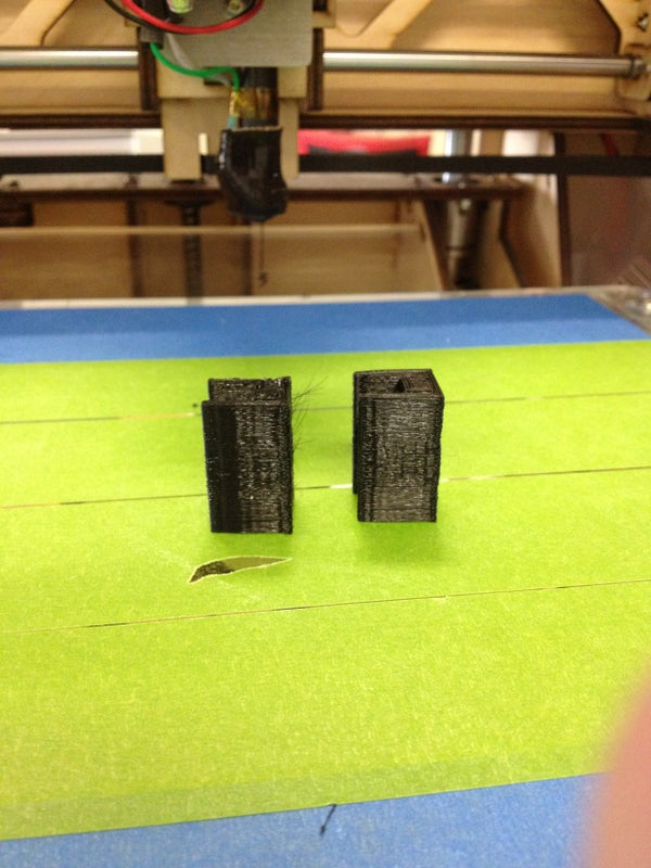 3D Printing 2 Parts at Once - Printing an Iphone Tripod Adapter