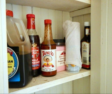 Cover Bottles - in the Cupboard
