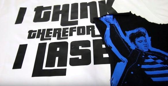 Laser Cutting T-Shirt Transfer Film