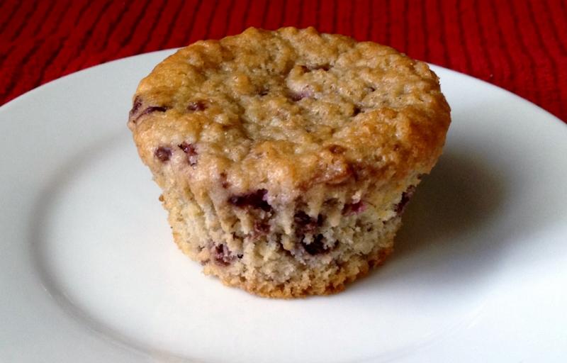 Blackberry Oat Bran Muffins