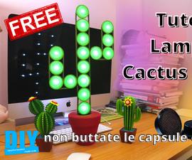 Cactus Al Caffè Riciclo Creativo