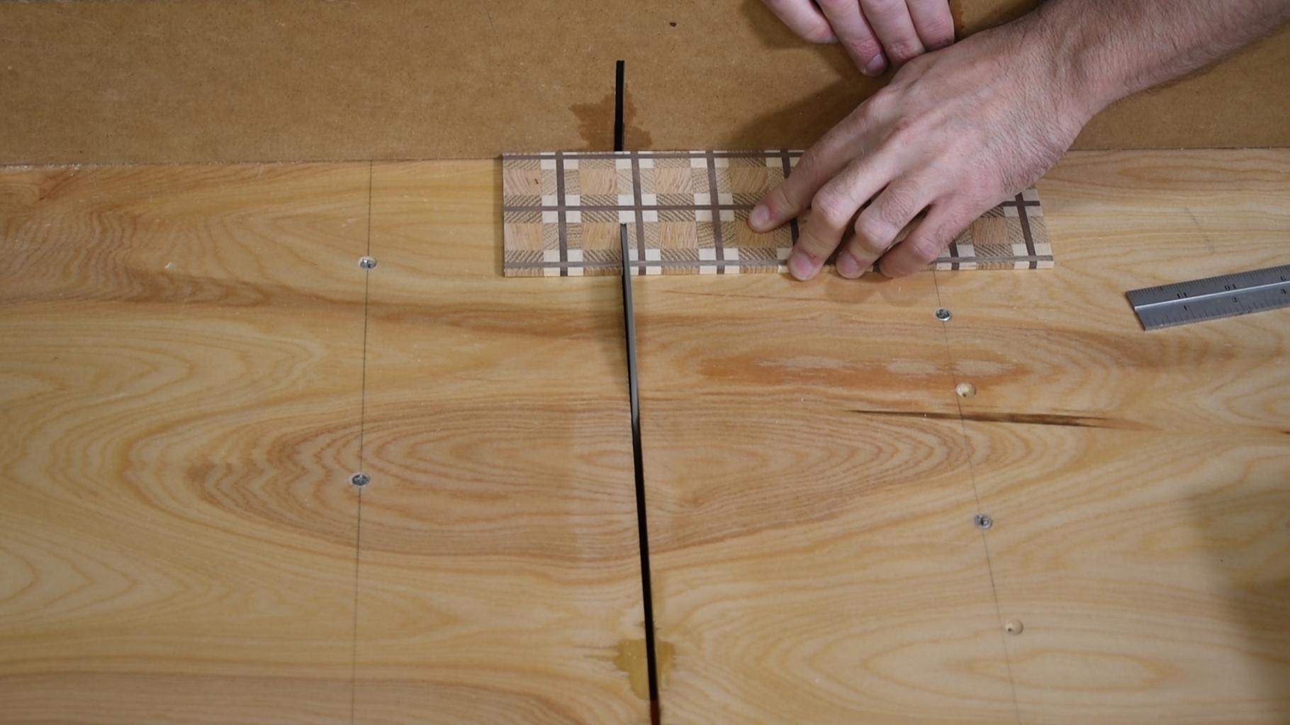 Assemble the Plaid Liner