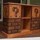 Mario Themed Bookcase
