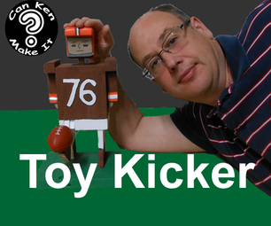 Wooden Football Placekicker Toy