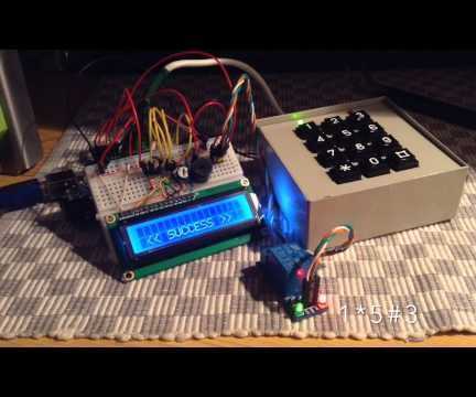 Arduino Keypad Password