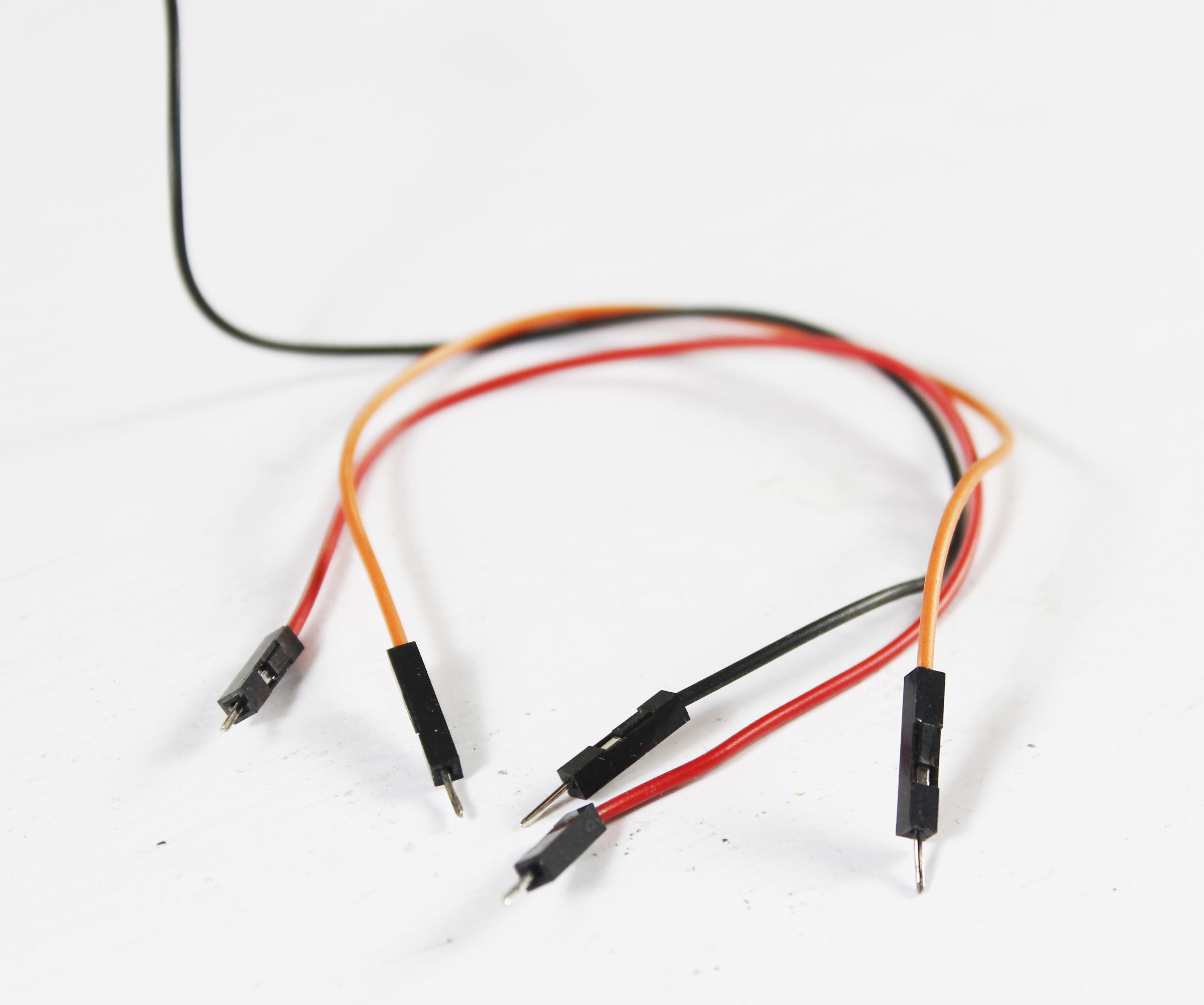 Make Bread Board Jumper Wires