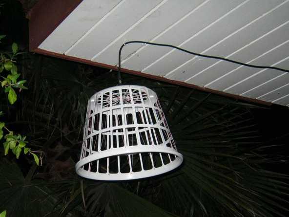 Outdoor Basket Wire HDTV Antenna