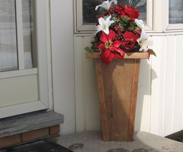Deck Vase Planter