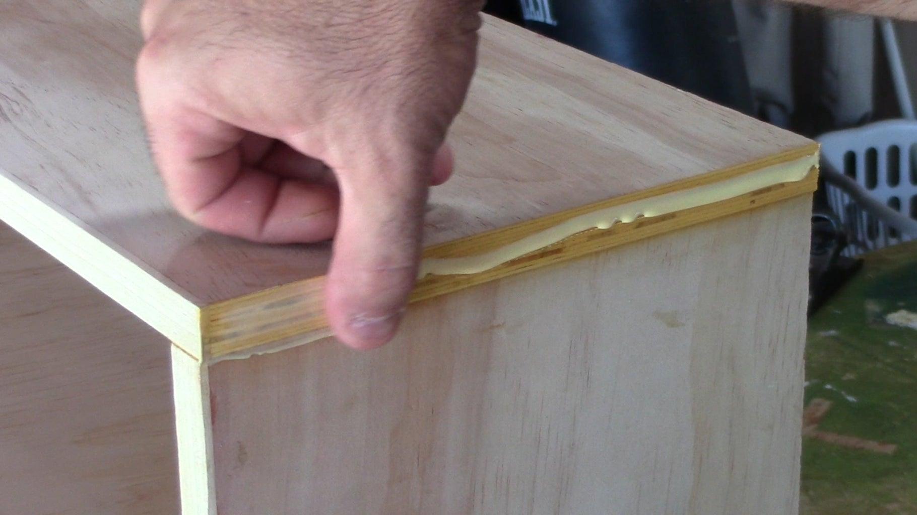 Finish the Plywood Edges.