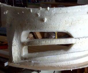 Foam Rebuild of Bumper