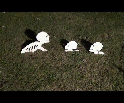 Make a Skeleton for Halloween Decoration
