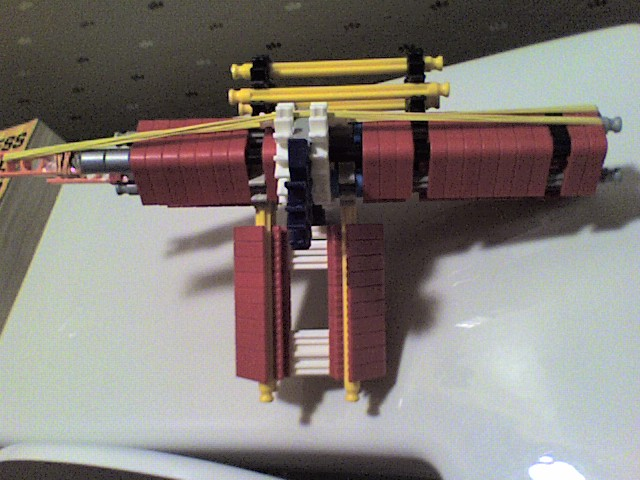 knex double shot hand gun