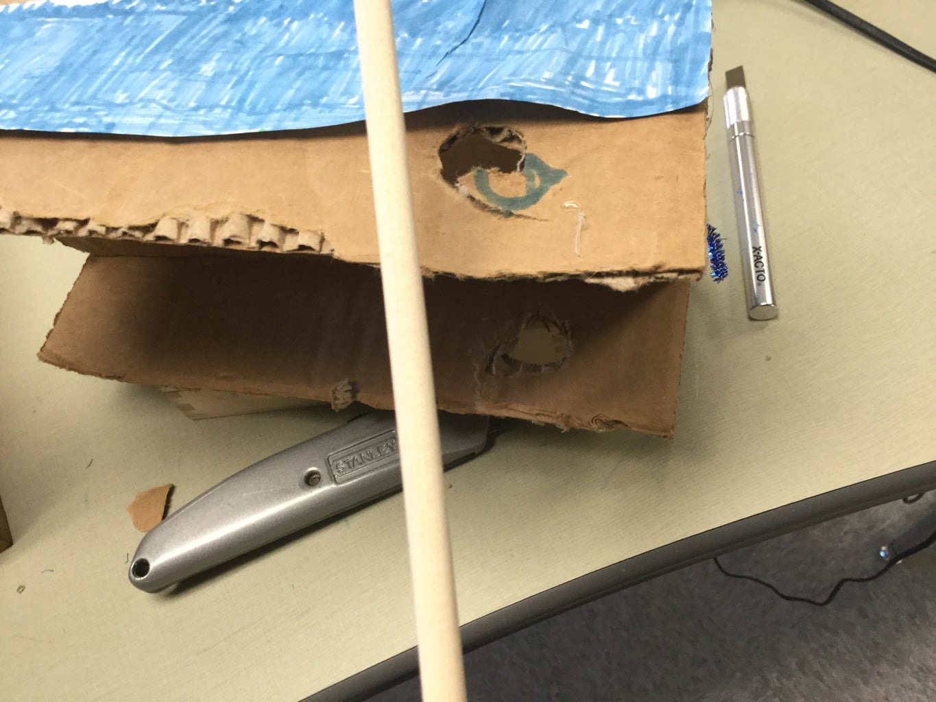 Body of the Mousetrap Car and Trident