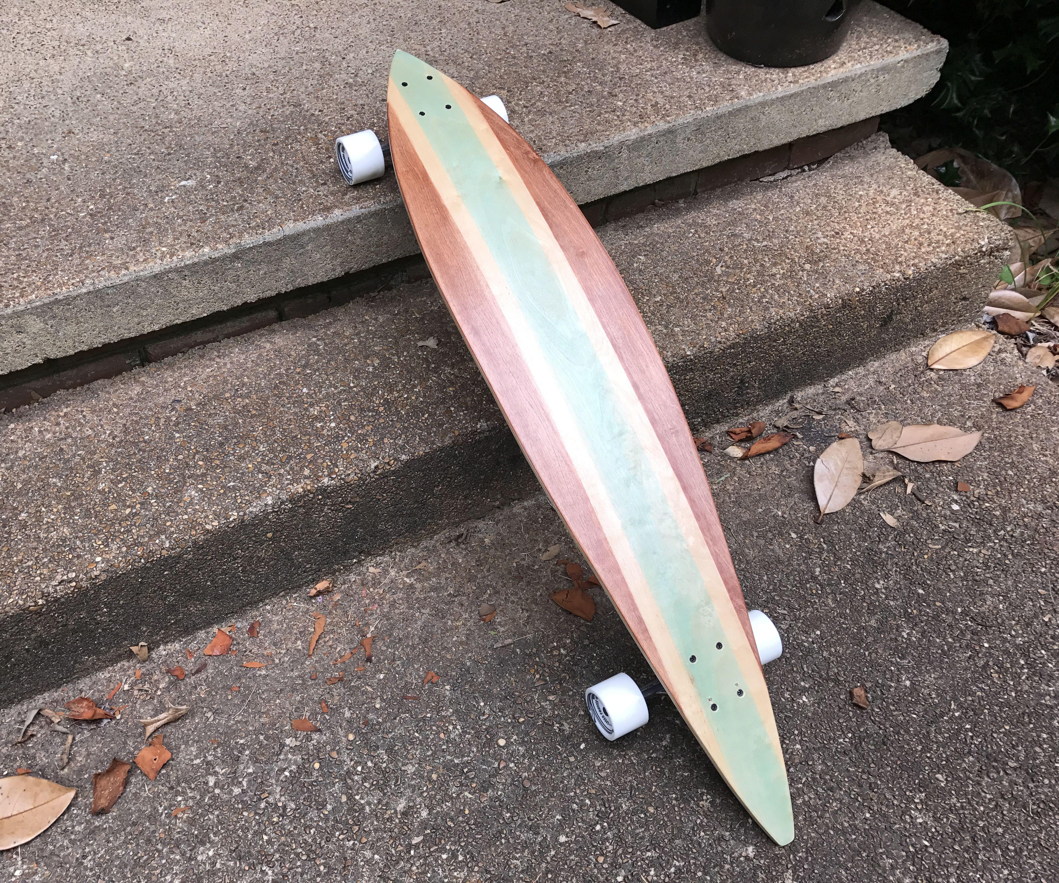 Old School DIY Cruiser Longboard