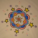 Drawing a mandala in 5 minutes